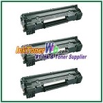 HP 78A CE278A Compatible Toner Cartridges - 3 Piece