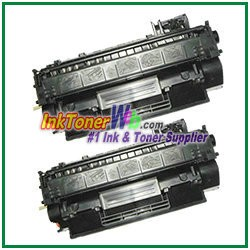 HP 80A CF280A Compatible Toner Cartridge - 2 Piece