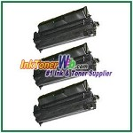 HP 10A Q2610A Compatible Toner Cartridges - 3 Piece
