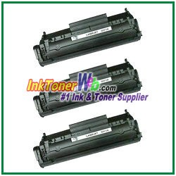HP 12A Q2612A Compatible Toner Cartridge - 3 Piece
