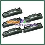 HP 12A Q2612A Compatible Toner Cartridge - 5 Piece