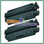 HP 13A Q2613A Compatible Toner Cartridge - 2 Piece