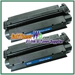 HP 13X Q2613X High Yield Compatible Toner Cartridges - 2 Piece