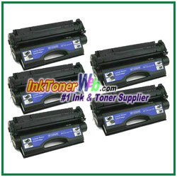 HP 24X Q2624X Compatible Toner Cartridges - 5 Piece