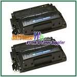HP Q5942XD 42X High Yield Compatible Toner Cartridge - Dual Pack