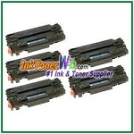 HP 11A Q6511A Compatible Toner Cartridges - 5 Piece