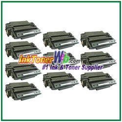 HP 11X Q6511X High Yield Compatible Toner Cartridge - 10 Piece