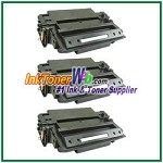 HP 11X Q6511X High Yield Compatible Toner Cartridge - 3 Piece