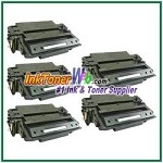 HP 11X Q6511X High Yield Compatible Toner Cartridge - 5 Piece