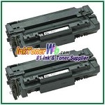 HP 51A Q7551A Compatible Toner Cartridges - 2 Piece