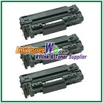 HP 51A Q7551A Compatible Toner Cartridges - 3 Piece