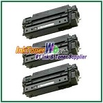 HP 51X Q7551X High Yield Compatible Toner Cartridges - 3 Piece