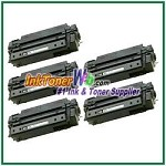 HP 51X Q7551X High Yield Compatible Toner Cartridges - 5 Piece