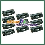 HP 53X Q7553X High Yield Compatible Toner Cartridges - 10 Piece
