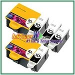 Kodak 10 Compatible ink Cartridges - 6 Piece Combo