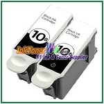 Kodak 10B Compatible Black ink Cartridge -2 Piece