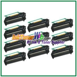 Konica Minolta 1710405-002 High Yield Compatible Toner Cartridges ( for PagePro 1100 / 1250 / 8 ) - 10 Piece