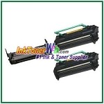 Konica Minolta 1710405-002 & 1710400-002 Compatible Toner Cartridges & Drum Unit - 3 Piece Combo