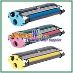 Konica Minolta 1710517-008, -007, -006 High Yield Compatible Toner Cartridges ( for magicolor 2300/2350 ) - 3 Piece Combo