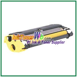 Konica Minolta 1710517-006 High Yield Compatible Yellow Toner Cartridge ( for magicolor 2300/2350 )