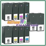 Lexmark 100XL Compatible ink Cartridges - 10 Piece Combo