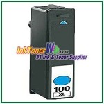Lexmark 100XL 14N1054 Compatible Cyan ink Cartridge