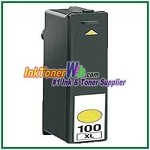 Lexmark 100XL 14N1056 Compatible Yellow ink Cartridge