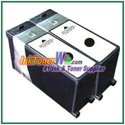 Lexmark 108XL 14N0659 Compatible Black ink Cartridge -2 Piece
