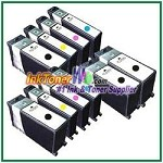 Lexmark 108XL Compatible ink Cartridges - 10 Piece Combo