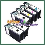 Lexmark 108XL Compatible ink Cartridges - 6 Piece Combo