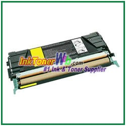 Lexmark C522, C524, C530, C532, C534 Yellow Compatible Toner Cartridge