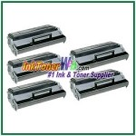 Lexmark E220 Compatible Toner Cartridges - 5 Piece