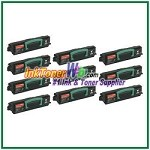 Lexmark E230, E232, E234, E240, E330, E340, E332, E342 High Yield Compatible Toner Cartridges - 10 Piece