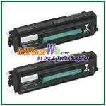 Lexmark E238 Compatible Toner Cartridges - 2 Piece