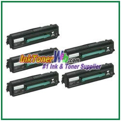 Lexmark E238 Compatible Toner Cartridges - 5 Piece