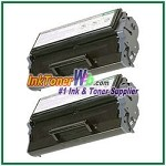 Lexmark E320, E322 High Yield Compatible Toner Cartridges - 2 Piece
