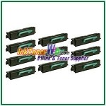 Lexmark E350, E352 High Yield Compatible Toner Cartridges - 10 Piece