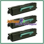Lexmark E350, E352 High Yield Compatible Toner Cartridges - 3 Piece