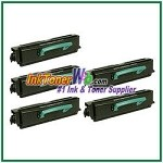 Lexmark E350, E352 High Yield Compatible Toner Cartridges - 5 Piece