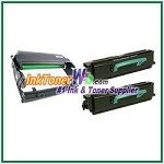 Lexmark E350, E352 Compatible High Yield Toner Cartridges & Drum Unit - 3 Piece Combo