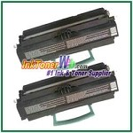 Lexmark E450 High Yield Compatible Toner Cartridges - 2 Piece