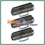 Lexmark E450 High Yield Compatible Toner Cartridges - 3 Piece