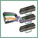 Lexmark E450 Compatible High Yield Toner Cartridges & Drum Unit - 4 Piece Combo