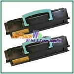 Lexmark E450 Compatible Toner Cartridges - 2 Piece