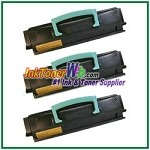 Lexmark E450 Compatible Toner Cartridges - 3 Piece