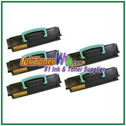 Lexmark E450 Compatible Toner Cartridges - 5 Piece