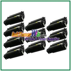 Lexmark T420 High Yield Compatible Toner Cartridges - 10 Piece