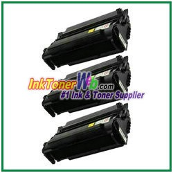 Lexmark T420 High Yield Compatible Toner Cartridges - 3 Piece