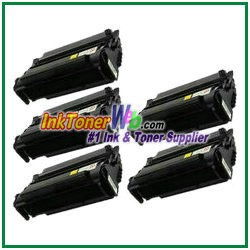 Lexmark T420 High Yield Compatible Toner Cartridges - 5 Piece