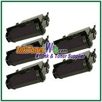 Lexmark T620, T622, X620 High Yield Compatible Toner Cartridges - 5 Piece